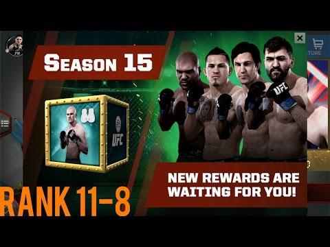 EA SPORTS UFC Mobile - H2H Season 15 Rank 11 - 8 Reward Opening!