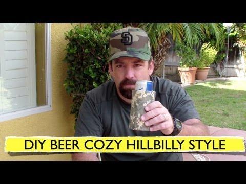 Beer Cozy DIY HillBilly Style
