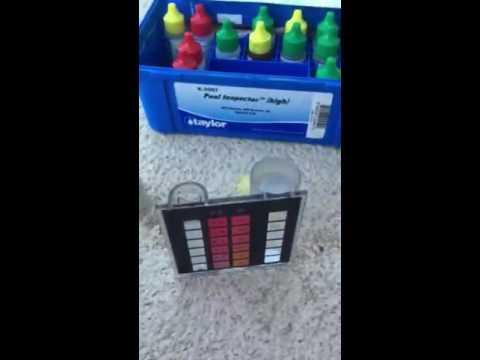 Adding Algaecide to your pool to prevent algae