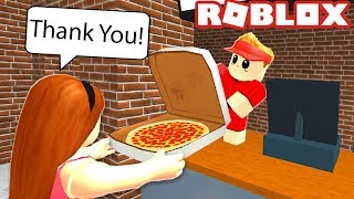 WORK AT A PIZZA PLACE AS A BABY IN ROBLOX