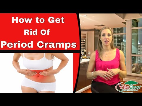 Period Cramps Relief : How to Get Rid of Period Cramps Fast : PMS - VitaLife Show Episode 123