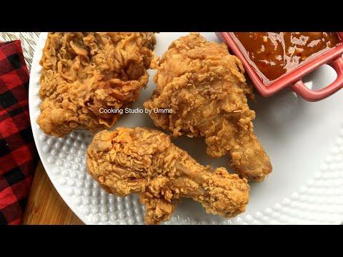 ফ্রাইড চিকেন KFC স্টাইল    Fried Chicken Recipe Bangla    KFC fried Chicken