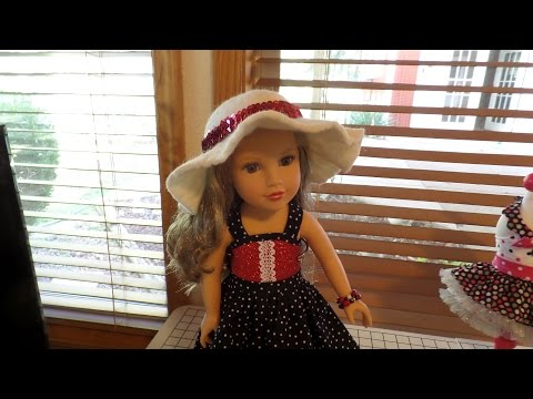 How to Make a Doll Hat out of Wool Felt