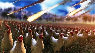 50,000 CHICKENS VS. NUCLEAR BOMB | Ultimate Epic Battle Simulator #3