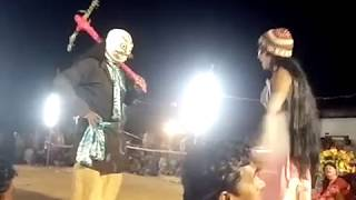Purulia chhou Dance 2018 special comedy show By হেম চন্দ্র মাহাতো