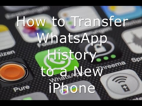 How to Transfer WhatsApp History to a New iPhone and iPad
