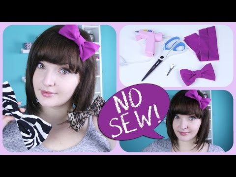 Make an awesome bow without sewing! Ways to wear a bow | DecorateYou