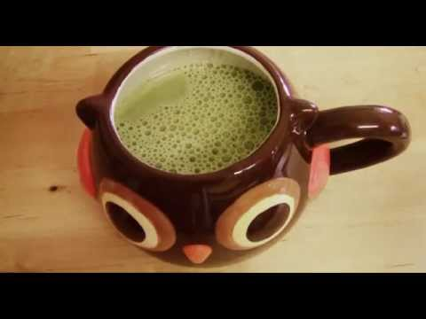 RECIPE: Green Tea Latte (Iced)