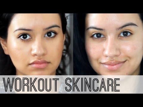 Skin Care Routine | Pre & Post Workout