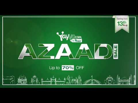 Celebrate Independence Day 2017 with Yayvo Azaadi Sale - Yayvo.com