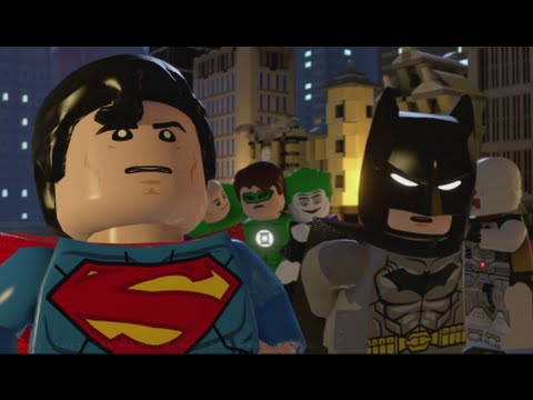LEGO Batman 3 - 100% Guide #8 - Big Trouble in Little Gotham (All Collectibles - Minikits, etc)