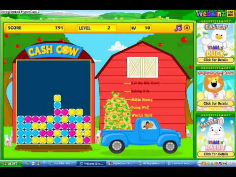 How to make Kinzcash fast but not alot on Webkinz