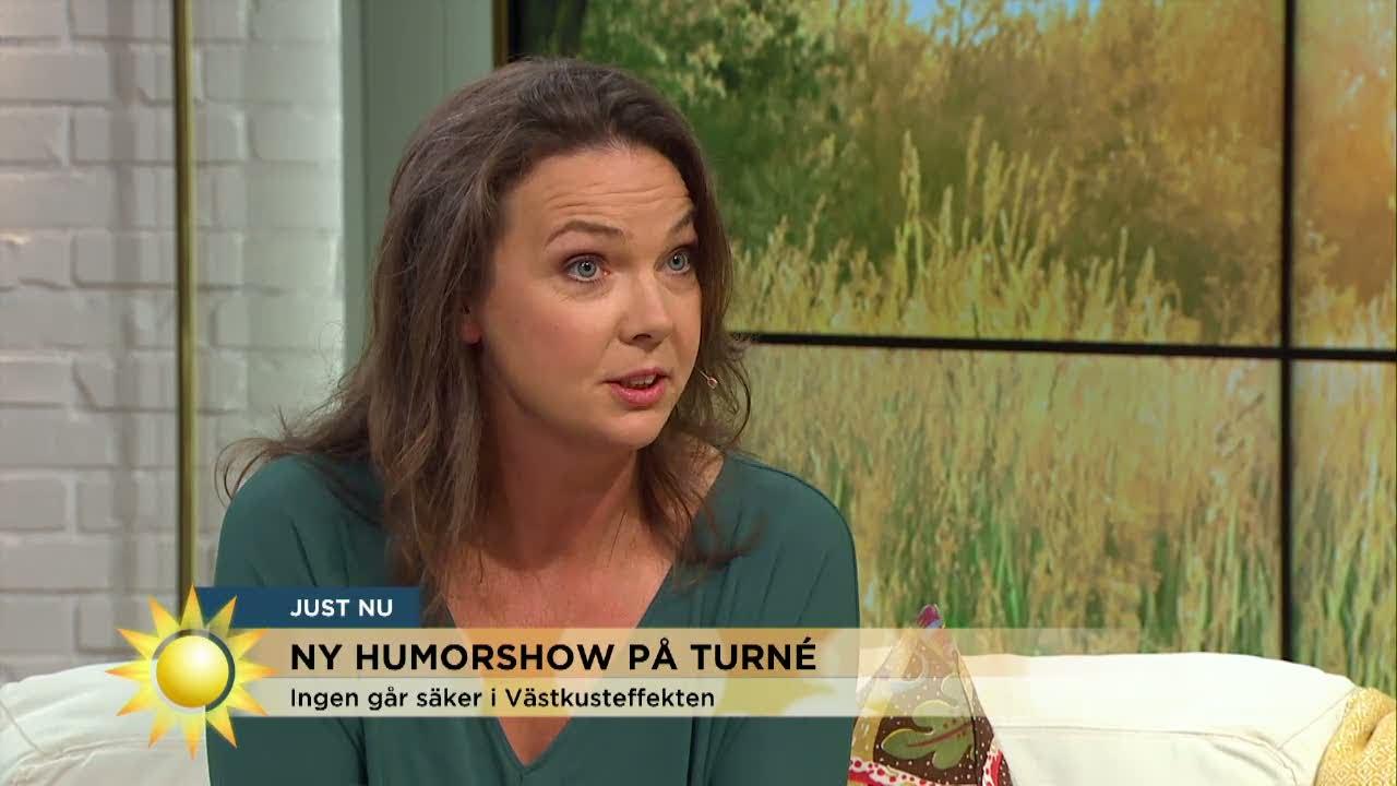 """Anna Blomberg: """"Anna Anka blev förbannad""""  - Nyhetsmorgon (TV4)"""