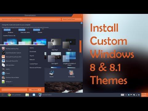 Installing Windows 8 / 8.1 Themes