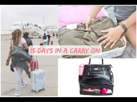 WHAT I PACKED FOR OVERSEAS   Europe & Africa