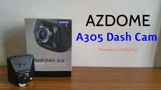 Azdome Fhd Dash Camera A305 Review & Unboxing [hd]
