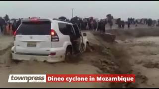 Dineo cyclone starts in Mozambique