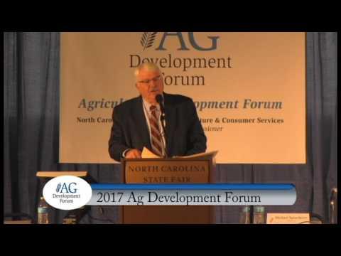 2017 State of Agriculture Address: Commissioner Steve Troxler