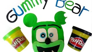 Play Doh How To Make Funny Gummy Bear