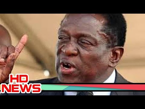 President Emmerson Mnangagwa blasts barking opposition parties