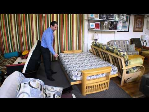 How Open and Close a Back Loading Futon
