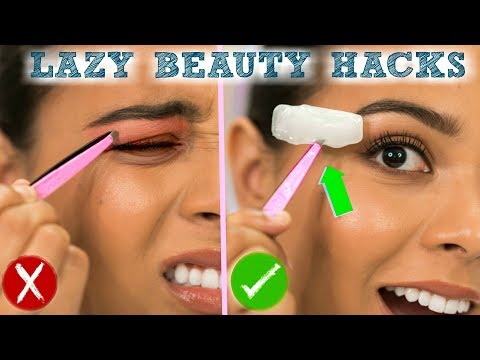 DIY Beauty Hacks Every LAZY PERSON Should Know! Morning Routine Life Hacks for School!