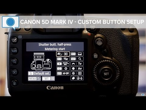 Canon 5D Mark IV Tips & Tricks - Custom Button Setup (Fixed Audio)