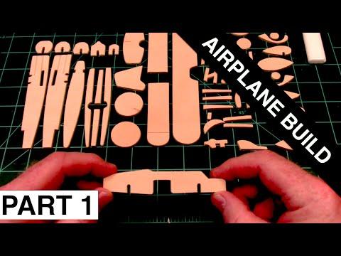 ASMR Toy Airplane Build Part 1