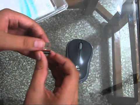 Unboxing : Logitech m185 Wireless Mouse