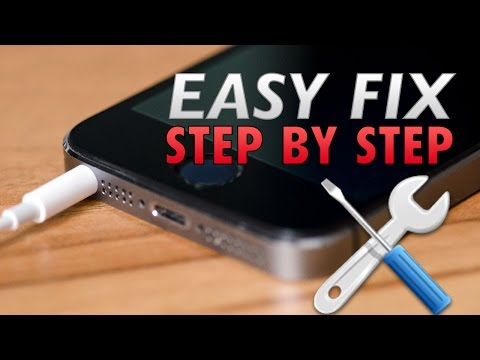 How to fix an iPhone 5/se/5s headphone jack