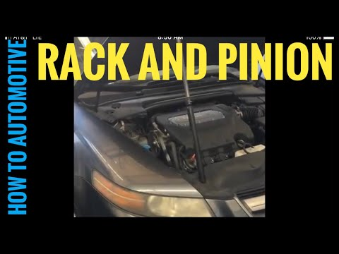 How to Replace the Power Steering Rack and Pinion on a 2006 Acura TL