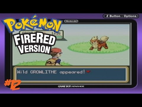 Pokemon FireRed/LeafGreen-Episode 12: Growlithe Hunting