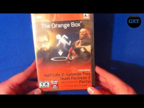 The Orange Box 5 Games All in One 2007 Video Game Unboxing-Overview HD 720P