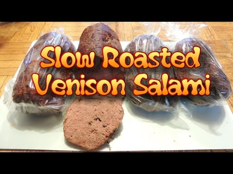 Salami Oven Roasted! (Venison or Beef)
