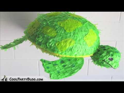 Custom Turtle Pinata