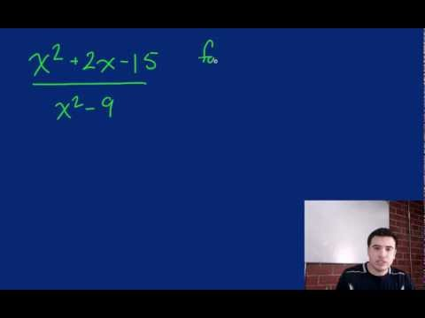 Simplifying Rational Expressions- Challenge 1
