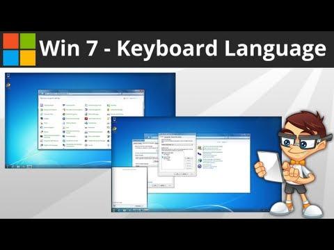 Windows 7: Changing Keyboard Language and Layout