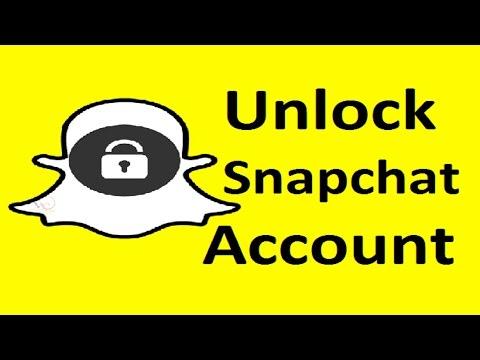 Unlock Snapchat Account!! - Howtosolveit