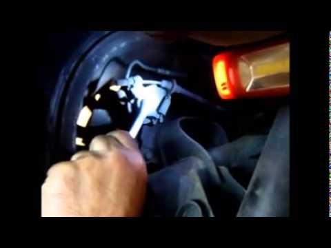 Renault scenic parking brake caliper checking
