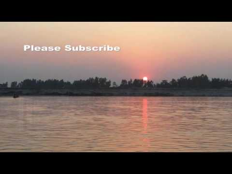 Sunset Video of Bangladesh by Earning From Learning | Natural beauty of gaibandha