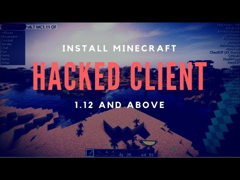How to Install Minecraft Hacked Client for 1.12.2 - Wurst