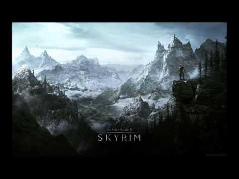 TES V Skyrim Soundtrack - Into Darkness