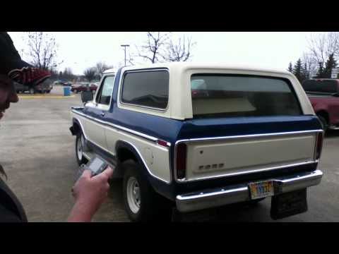 1979 Ford Bronco with 408 Stroker