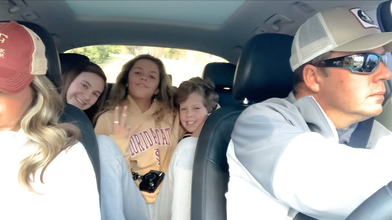 FAMILY GOES TO A BASEBALL GAME!