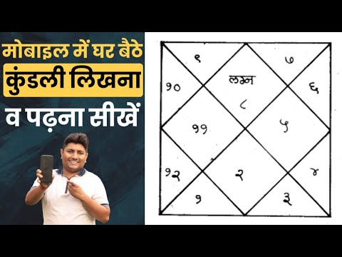 How to make kundli in hindi || Learn Kundli Reading From mobile