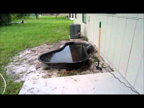 Shane's First Pond Build - Part 1 - The Dig