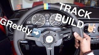 $250 Greddy Racewheel Install! //miata