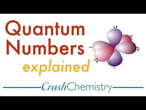 Quantum Numbers Tutorial — Explained + Practice Problems PART I: Crash Chemistry Academy