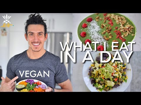 What I Eat In A Day: 4 Quick & Easy Vegan Meals
