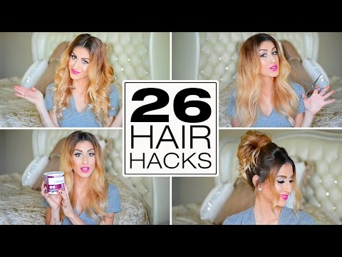 26 Lazy Girl Hair Hacks You Need To Know!